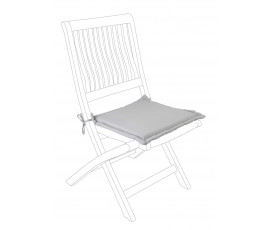 Cojín asiento cuadrado poly180, color visón