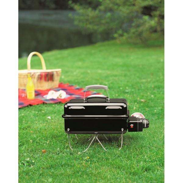 Barbacoa Weber® Go-Anywhere Black Gas