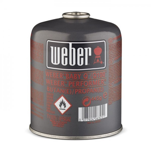 Bombona gas Weber