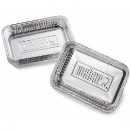 Bandejas de aluminio pequeñas Weber