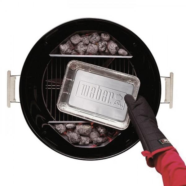 bandejas aluminio barbacoas carbon