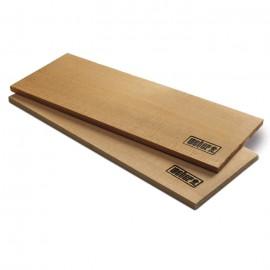 Bandejas grandes de cedro Weber® para ahumar ( 2 unidades )