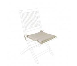 Cojín acolchado para asiento, color avana