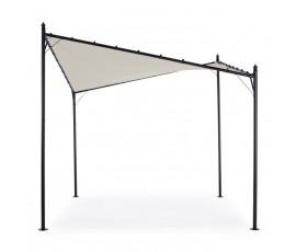 Cenador Vela Gerba 3x3m, color gris pal