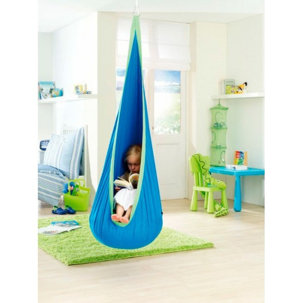 Hamaca nido infantil Joki de algodón, color Dolfy