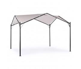 Cenador Dome 3.5x3.5m, antracita-gris